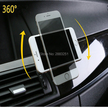 Magnetic 360 Rotation GPS Magnet Phone Car Phone Holder for Ford mondeo kuga fiesta Focus2 3 ecosport fusion mk4 car accessories image