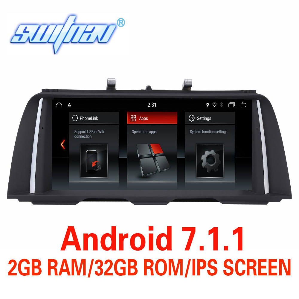 Android 7 1 FOR BMW 5 Series F10 F11 CAR DVD player CIC System NBT System