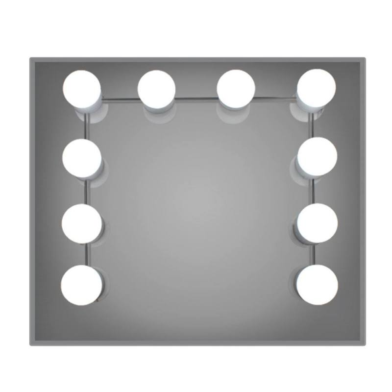 Hollywood Style Led Vanity Mirror Lights Kit With Dimmable