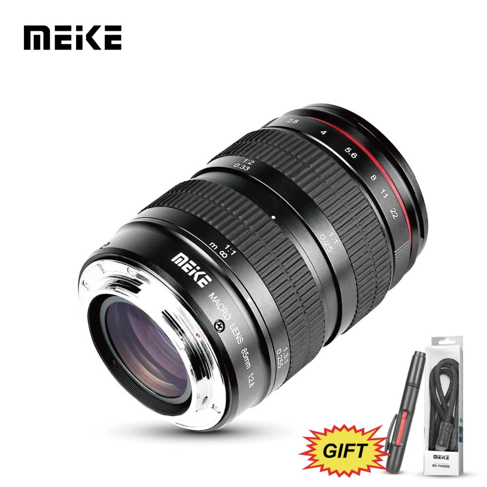 MK 85mm f2.8 objectif plein cadre à mise au point manuelle pour appareils photo reflex numériques Canon 5D/5D4/6D/6D2/60D/70D/80D/200D/700D/750D/800D/1100D/1300D/1500D