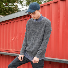 VIISHOW Brand 2016 Knitted Pullover Mens Fashion Sweaters Male Cotton pull homme marque inter Men Pullovers Sweater Slim Sweater
