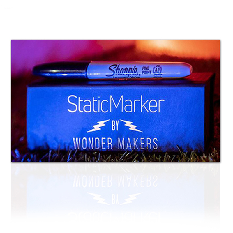 Static Marker By Wonder Makers (Gimmicks And Online Instructions) Illusions Magic Tricks Mentalism Street Magia Profesional