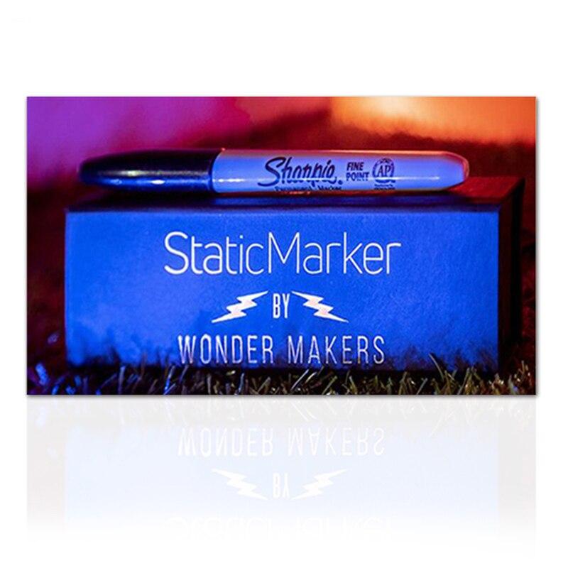 Marcador estático por wonder makers (truques e instruções on-line) ilusões truques de magia mentalismo rua magia profesional