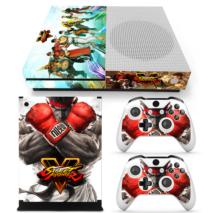 Free drop shipping Girl Vinyl HD Picture Portective Sticker Decal 2 Gamepad Skins For XBOX ONE s #TN-XboxOneS-1244