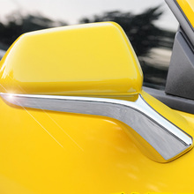 QHCP Automoibles Accessories Car Rearview Mirrors Side ABS Base Cover Trim Strip For Camaro 2016+ Car Decals FREE SHIPPING