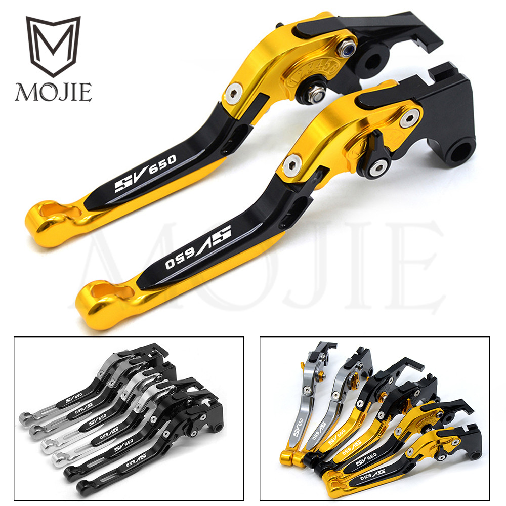 For SUZUKI SV650 S SV 650 S SV650S SV 650S 1999 2009 Motorcycle Accessories Folding Folding Extendable Brake Clutch Levers Set-in Brake Disks from Automobiles & Motorcycles    1