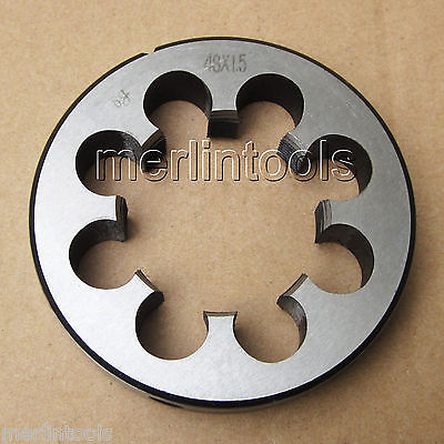 48mm x 1.5 Metric Right hand Thread Die M48 x 1.5mm Pitch  цены