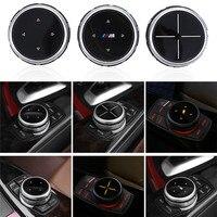 Multimedia Idrive Modification Button Cover Knob Cover For BMW X1 X3 X5 X6