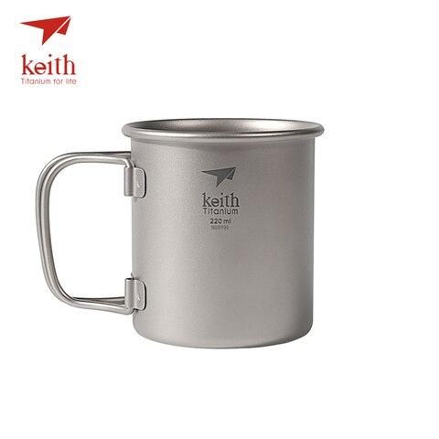 keith titanium folding agua canecas drinkware copos