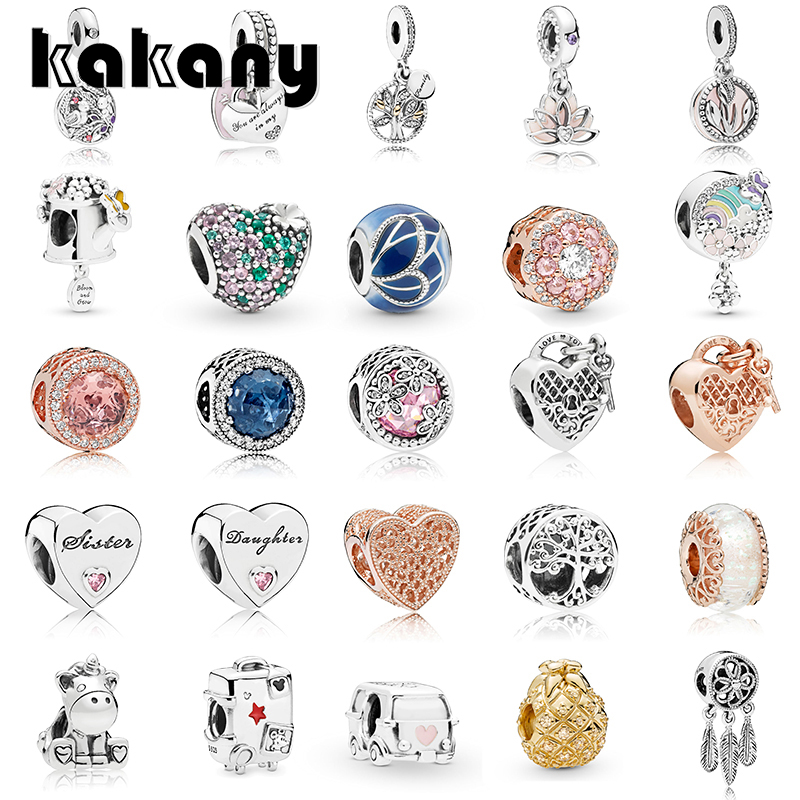 KAKANY 925 sterling silver new mothers day necklace pendant heart-shaped key pineapple charm original fashion womens jewelryKAKANY 925 sterling silver new mothers day necklace pendant heart-shaped key pineapple charm original fashion womens jewelry