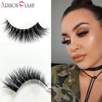 3D mink eyelashes transparent band 100% real siberian crisscross mink strip lashes clear band Full Strip Lashes for make up 目