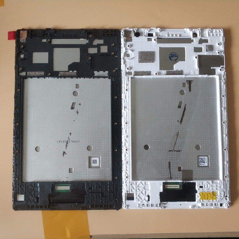 Pour Lenovo Tab 4 8.0 8504 TB-8504X TB-8504F Écran Tactile Digitizer Verre + LCD Assemblée D'affichage Avec Cadre Pièces Blanc