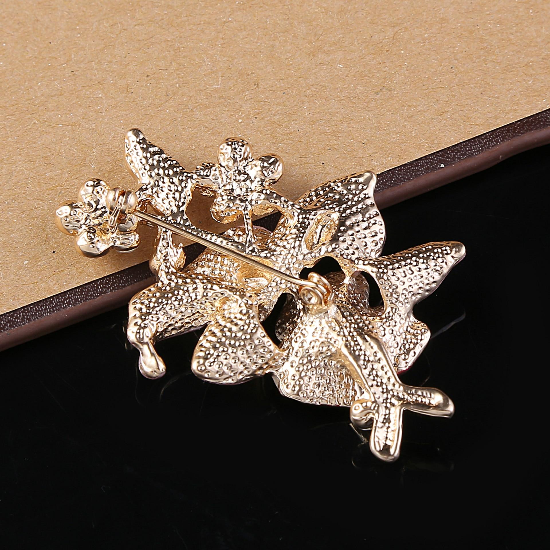 Elegantiškos moterys Drip Crystal Flower sagės smeigtukai - Mados papuošalai - Nuotrauka 6