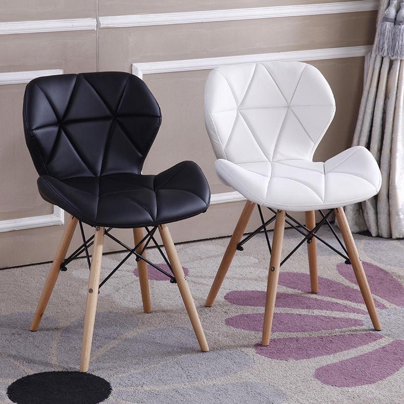Здесь продается  2pcs 4pcs/ Set Fashion Style Dining Chairs PU leather Seat Solid Wood Legs Cafe Shop Stool Contemporary Living Room Furniture  Мебель