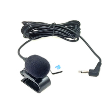 Mini Professional Lavalier Microphone 3.5mm Jack Plug Mic Stereo Mini Wired External Mic for PC Mic Transmitter dagee dg 001mic universal 3 5mm jack wired nylon housing microphone for pc black 200cm