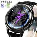 Coração de dragão guerra relógio LED relógio À Prova D' Água Reloj Hombre Xingyunshi Marca Simples Fashion Business Casual Assista relogio masculino