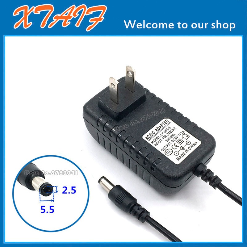 2A AC Converter Adapter FOR DC 6V 1.5A Power Supply Charger 5.5 x 2.1mm 1500mA US Plug
