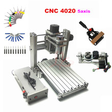 CNC 4020 frame 3axis 4axis 5axis usb mach3 milling machine for wood pcb more bigger than 3020 free ship to RU Italy Spain....(China)