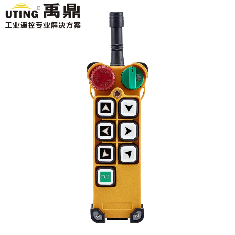 F24-6S wireless remote control 1 transmitter / 6 buttons 1 Speed Hoist crane remote control transmitter industrial wireless redio remote control transmitter f24 6s for hoist crane 1 transmitter