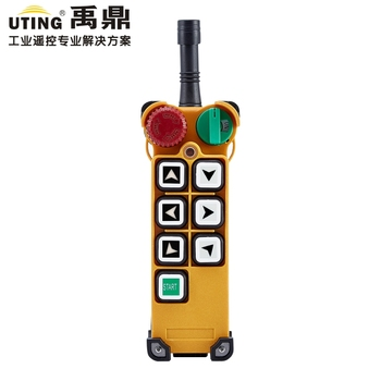 F24-6S wireless remote control 1 transmitter / 6 buttons 1 Speed Hoist crane remote control transmitter