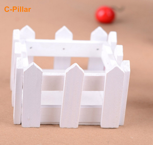 Aliexpress Buy New White Wooden Fence Vase 10x10x7cm Square