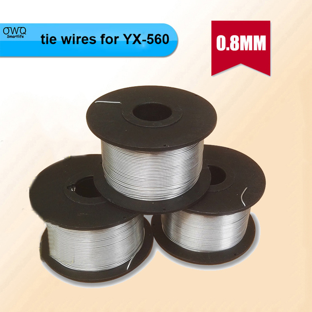45pcs / lot 0.8MM Wire diameter tie wires for YX 560 Automatic ...