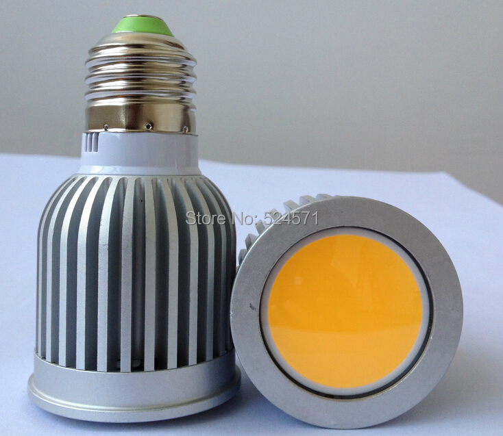 Free shipping 10pcs/lot COB 7W 9W warm white/cold white COB led spot light Led bulb light AC85-265V