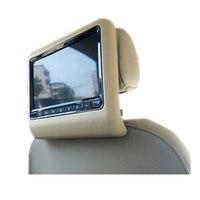 2 шт./слот 9 дюймов Автомобильный подголовник для контроля уровня сахара в крови с дистанционным управлением 800x480