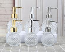 Accessories Bathroom Shampoo Pump Foaming Sanitizer Soap Ceramics Dispenser Lotion Portable Travel Liquid Soap Dispenser