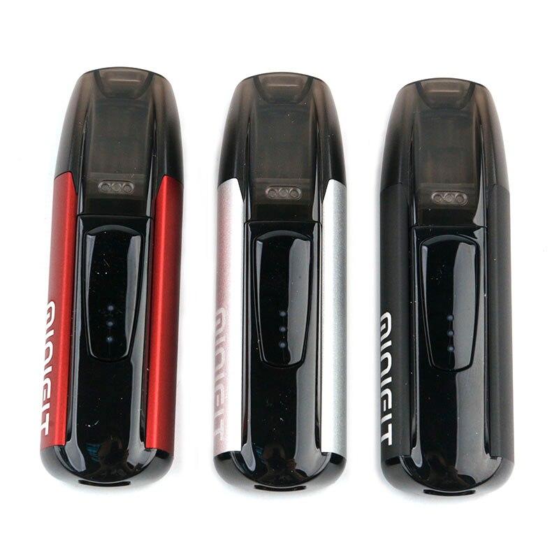 3 pièces D'origine Justfog Minifit Pod Kit avec 370 mAh Batterie et 1.5 ml Réservoir de Cigarette Électronique Vape Stylo Tout en un narguilé