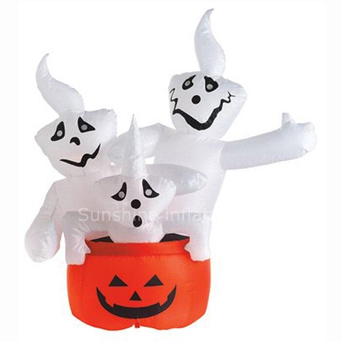 Décorations gonflables géantes de citrouille d'halloween de 10ftT/abaisse les inflatables d'halloween