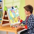Tresbro 2017 nuevo caliente para colorear notebook de Alta Calidad Tamaño 28x36 CM pintura raspado papel de dibujo de aprendizaje y educación juguetes