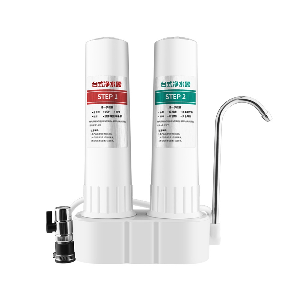 DMWD Household Kitchen Faucet Pre-filter Water Purifier Diatom Activated Carbon Water Filter Cartridges Water Purifying Machine