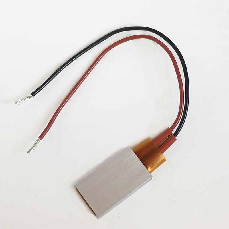 PTC heating element 220 degree 24V constant temperature ceramic Thermostatic 35*21mm