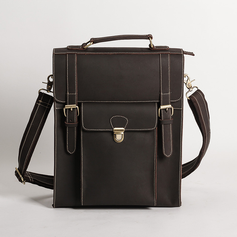 Crazy Horse Genuine Leather Men Backpack Retro School Bag For Boy Male Travel Business Shoulder Cross Body Bag 30% OFF 2106Crazy Horse Genuine Leather Men Backpack Retro School Bag For Boy Male Travel Business Shoulder Cross Body Bag 30% OFF 2106