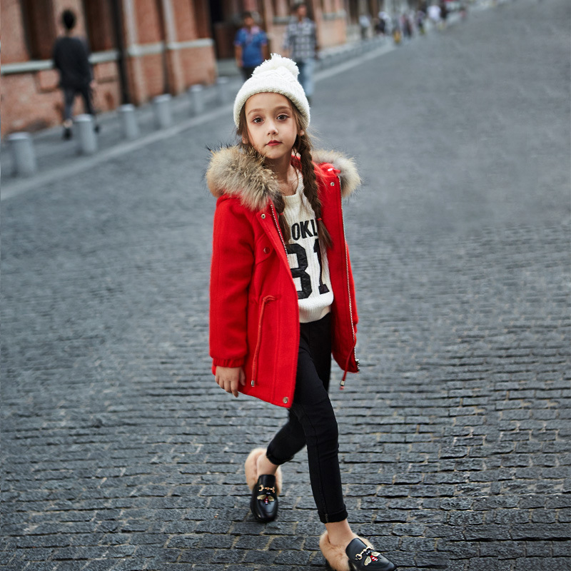 Girl Coat Winter duck Down And Jackets Kids Outwear Warm Jacket Girls Clothes Parkas Children Baby Girls Clothing with hooded kids clothes children jackets for boys girls winter white duck down jacket coats thick warm clothing kids hooded parkas coat