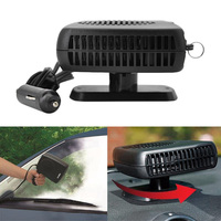 10pcs Lot 2 In 1 Portable Car Fan 12V 150w Auto Car Heater Defroster Demister With