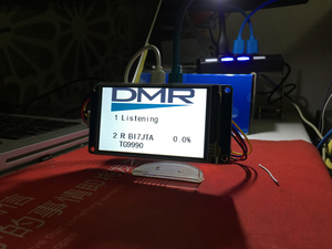Image 2 - 3.2 אינץ LCD מסך MMDVM חמה 20 MW UHF משולב פנל עבור פטל Pi אפס W המשולב Wifi עם SD כרטיס RainSun אנטנה