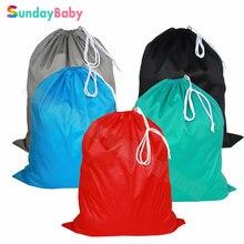 3 pcs 50*60cm waterproof wet bag diaper bag drawstring diaper bag travel mom bag and washable pail liner