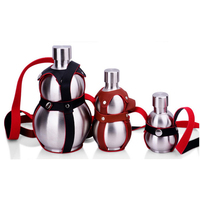 EDC Rvs 250 ML/500 ML Water Fles Outdoor Camping Sport Multi Tool Kan Doen Rvs Whiskey water Jug