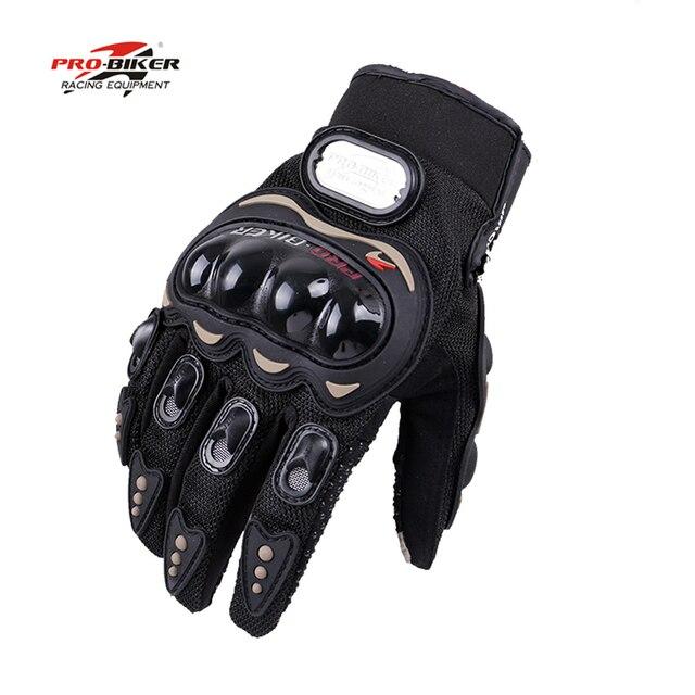כפפות Pro-biker אופנוע כפפות אופנוע מרוצי guantes luvas כפפות מוטוקרוס mtb MOTO motocicleta מ 'שחור כחול אדום ~ XXL