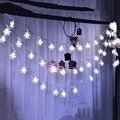 Снежинка Led String 10-20 Легкий Зимний Подарок Фея Фонарь Праздник Свадьба Garden Party Рождество Новый Год Декор Малыш Любовь SR