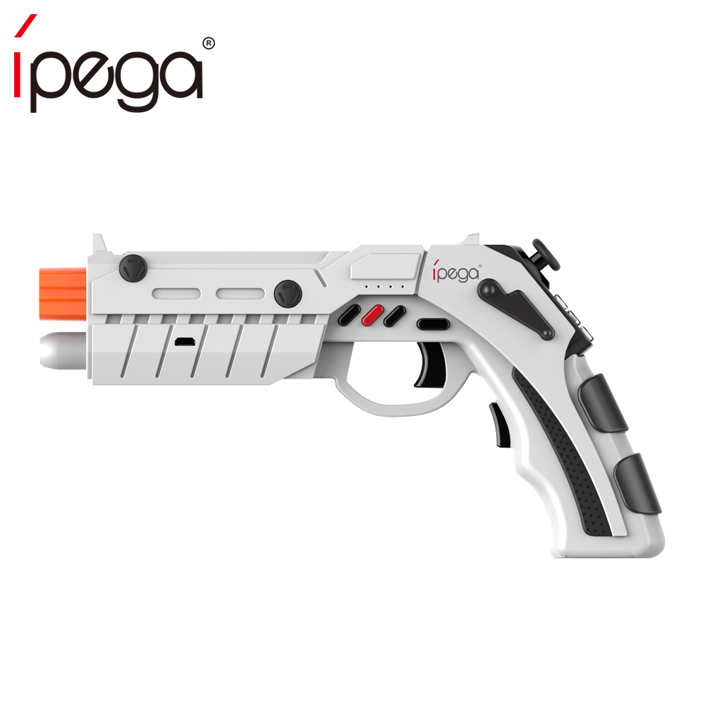 iPega PG-9082 PG 9082 Bluetooth Gamepad Shooting AR Gun Joystick for Android iOS Phone PC AR Game Controller ipega pg 9028 practical stretch bluetooth game controller gamepad joystick with stand