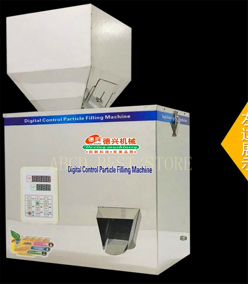 18 5g-500g Granules racking machine,Medicine weighting packing machine,Powder filling machine,tea grain seeds packaging machine 5 500g automatic powder tea food intelligent packaging filling machine weighing granular high quality packing machine