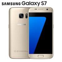Original Samsung Galaxy S7 LTE Quad Core Mobile Phone G930V G930F 5 1 12MP 4G RAM