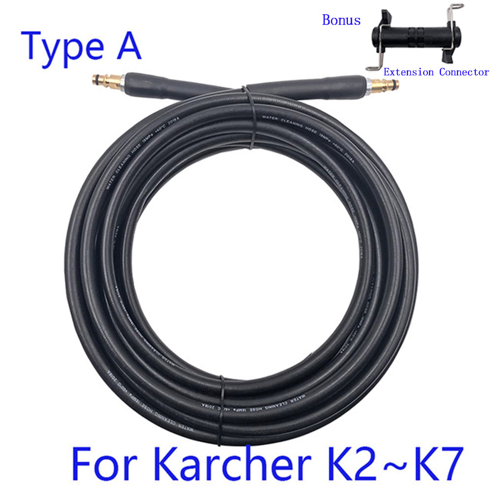 6 8 10 15 Meters High Pressure Washer Hose Car Washer Water Cleaning Extension Hose For Karcher K2 K3 K4 K5 K6 K7