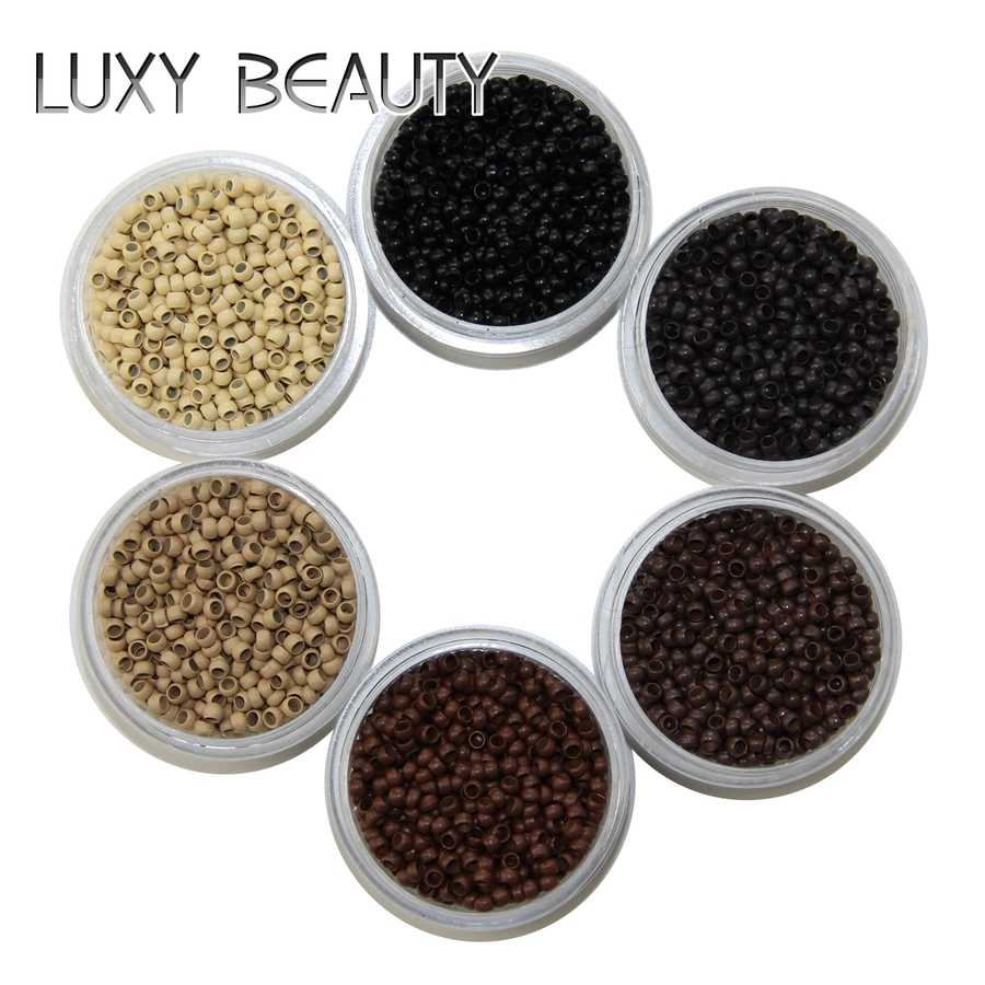 500pcs Hair Beads Nano Ring Micro Beads Fashion Salon Hairstylist Dreadlock Hair Extension Tools More Colors Are Available