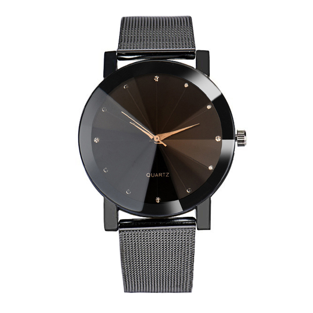 New Brand Quartz Watch Fashion Watch men Luxury Brand Stainless Steel Watches Ladies Wristwatch Women Mujer Drop Ship relojes mujer quartz wristwatch 2016 new fashion brand watches men metal mesh stainless steel watch women unisex casual clock