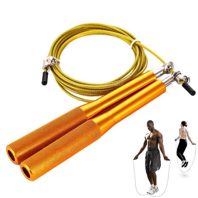 dc4bfbe49 Saltar La Cuerda Crossfit Entrenamiento Profesional Cable de Alta Velocidad  Saltar La Cuerda de Velocidad ajustable