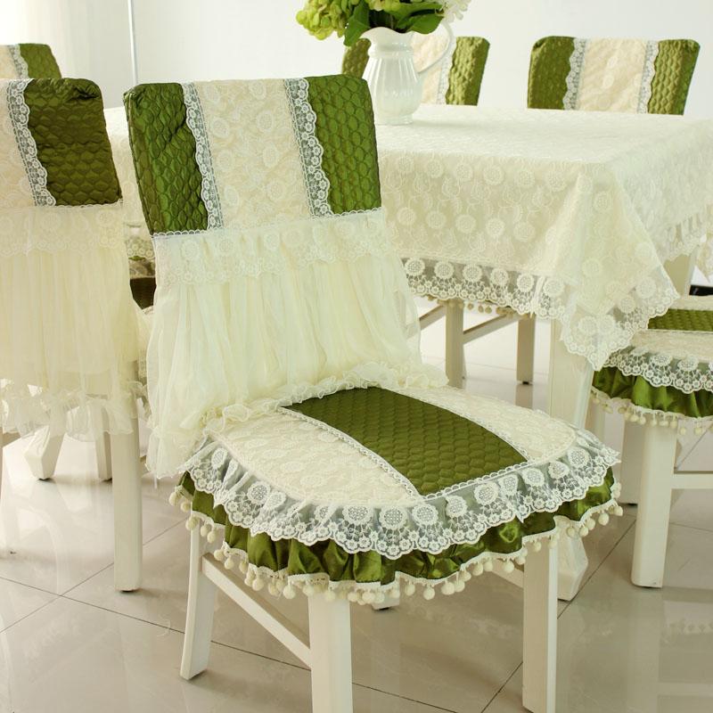 Fundas para sillas cojines para silla de comedor cubre mantel mantel ...
